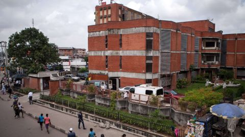 A photo taken on July 24, 2014 shows the First Consultants Medical Centre in Lagos, where allegedly a 40-year-old Liberian man died from the Ebola disease. Nigeria was on alert against the possible spread of Ebola on July 26, a day after the first confirmed death from the virus in Lagos, Africa's biggest city and the country's financial capital. The victim, who worked for the Liberian government, collapsed at Lagos international airport after arriving on a flight from Monrovia via the Togolese capital Lome on July 22, according to the Nigerian government. AFP PHOTO / FLORIAN PLAUCHEURFLORIAN PLAUCHEUR/AFP/Getty Images
