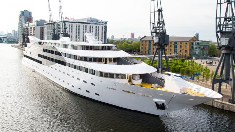 """Can't afford a superyacht of your own? You could always stay at <a href=""""http://edition.cnn.com/2014/08/11/sport/inside-londons-67m-superyacht-hotel/"""">London's Sunborn Superyacht Hotel. </a>Opened last year, it features 136 rooms costing between $300 and $1,600 per night."""