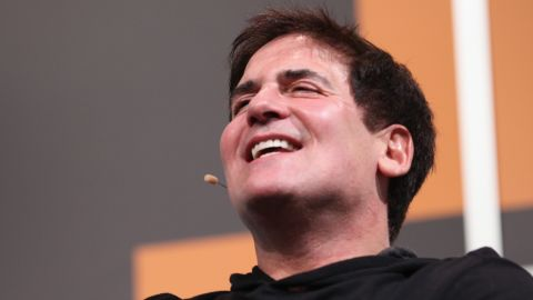 Entrepreneur Mark Cuban, owner of the Dallas Mavericks, speaks onstage during the 2014 SXSW Music, Film + Interactive Festival at the Austin Convention Center on March 8 in Austin, Texas.