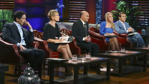 """Cuban and other panelists on the show """"Shark Tank"""" watch as entrepreneurs pitch a smart lightbulb, a high-tech replacement for a wine cork, a subscription service of carefully curated children's books, and a fort-building construction kit for kids."""