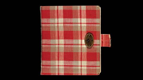 """For her 13th birthday, Anne Frank received a red plaid diary, her first journal. She brought it with her into hiding and began writing in it in 1942. After her death, her father, Otto Frank, edited and compiled the diary. It was published in the Netherlands in 1947 as """"The Secret Annex. Diary Letters From June 14, 1942, to August 1, 1944."""""""