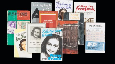 """""""The Diary of Anne Frank"""" has been translated into more than 70 languages in more than 60 nations."""