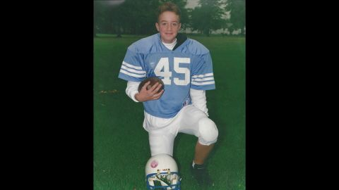 Melva Sherwood's son Andrew died from a heroin overdose in October 2012. He was 27.