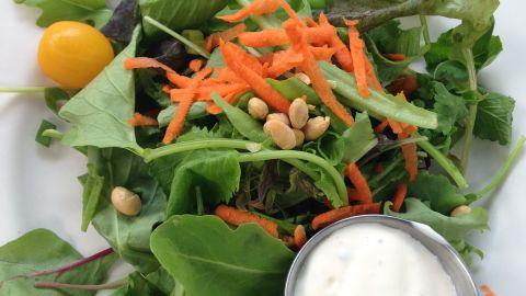 The American Hotel, Sharon Springs, New York: Side salad