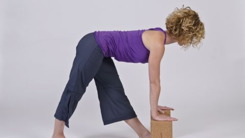 This pose is a combination of hamstring stretching and pelvis resetting. Some people swear by hamstring stretches, while others find it aggravates the nerve. Try it carefully. Back off if pain increases.
