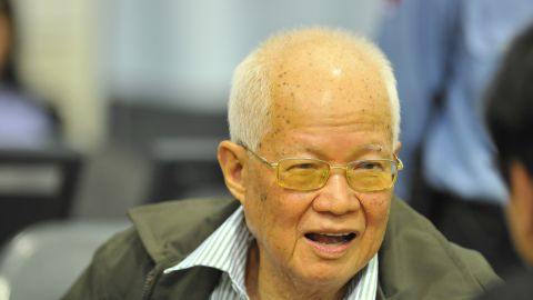 As the former head of state for the Khmer Rouge, Khieu Samphan occupied a number of key roles as the government tortured, starved and killed its people.