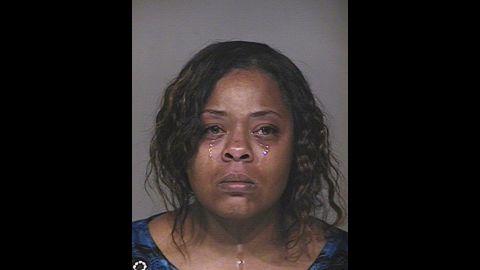 Shanesha Taylor was arrested March 20