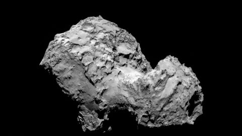 Rosetta spacecraft arrives at its destination, Comet 67P after a 10-year journey around the solar system.