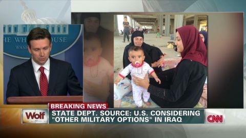 tsr white house earnest options iraq_00005407.jpg