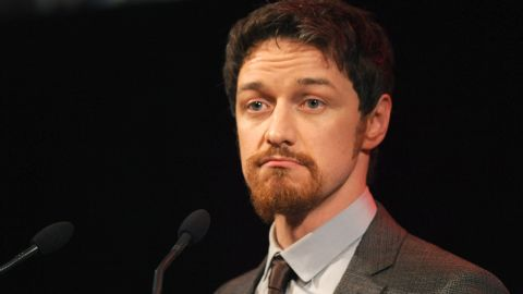 """If you try to covertly tape James McAvoy on stage, he has no problem with abruptly stopping the show. That's what happened in 2013, when an attendee at a performance of McAvoy's """"Macbeth"""" was trying to film the show. Once McAvoy spotted the filmographer, <a href=""""http://www.telegraph.co.uk/culture/theatre/theatre-news/9978221/James-McAvoy-halts-Macbeth-to-stop-audience-member-filming.html"""" target=""""_blank"""" target=""""_blank"""">he yelled at the person while still in character</a>, completely holding up the production until the camera was removed."""