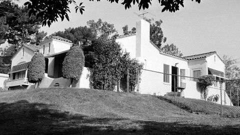 On the night of August 10, three of Manson's followers killed supermarket executive Leno LaBianca and his wife, Rosemary, at their home (pictured). This time Manson accompanied his followers to select the victims, but he did not take part in the killings.