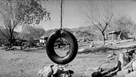 Manson and his followers were arrested at this remote location, called Barker Ranch, on suspicion of auto theft. Police did not immediately connect them to the murders.