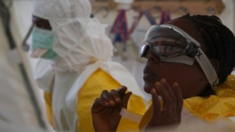 Scores of doctors and nurses in Sierra Leone have died from Ebola