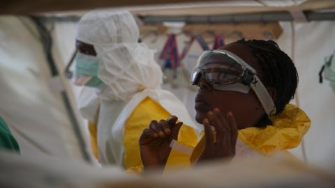 """Scores of doctors and nurses have died from Ebola in this outbreak in Sierra Leone alone. As the outbreak spreads, MSF says that they are stretched beyond capacity. """"We simply cannot do more,"""" said their director of operations on Friday."""