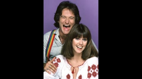 """Williams first shot to stardom with Pam Dawber in the sitcom """"Mork & Mindy"""" in September 1978."""