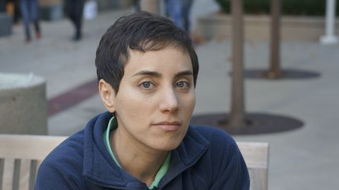 Maryam Mirzakhani is the first woman to win mathematics' highest honor, the Fields Medal.