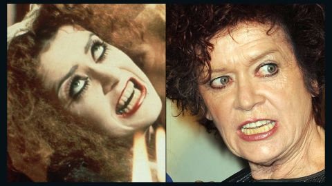 """If you don't know Patricia Quinn, you do know her lips. She's the owner of <a href=""""https://www.youtube.com/watch?v=G5MHNvOVl8Y"""" target=""""_blank"""" target=""""_blank"""">the blood-red mouth that infamously takes up the screen </a>during """"Rocky Horror's"""" opening credits. After playing the domestic Magenta, Quinn kept busy with more acting roles and is <a href=""""https://www.facebook.com/patriciaquinnnews/timeline"""" target=""""_blank"""" target=""""_blank"""">consistently up for a """"Rocky Horror"""" event. </a>"""