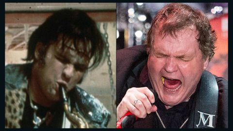 """After working on his theater skills with the musical """"Hair,"""" Meat Loaf landed a pretty tasty part in """"The Rocky Horror Picture Show"""" as the doomed ex-delivery boy, Eddie. He immediately followed that success with 1977's rock opera """"Bat Out of Hell,"""" and gave fans a second installment in 1993. While continuously making albums, Meat Loaf slipped in some acting, from """"Fight Club"""" to """"Spice World,"""" most recently appearing in the 2014 horror musical """"Stage Fright."""""""