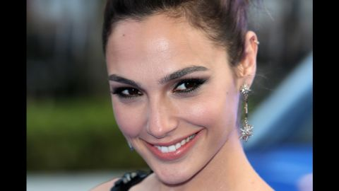 """Gal Gadot's casting as Wonder Woman also caused a bit of controversy at first, though her fierce <a href=""""http://www.cnn.com/2014/07/28/showbiz/movies/wonder-woman-gal-gadot-photo-batman-v-superman/index.html"""" target=""""_blank"""">first photo in costume at San Diego Comic-Con</a> drew raves from many fans."""