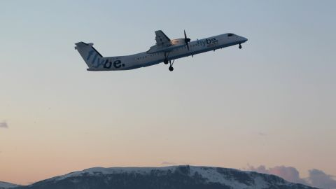 The incident involved a Flybe Turboprop plane traveling from Southampton, England to Dublin.