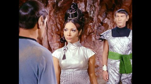 """Actress <a href=""""http://www.cnn.com/2014/08/14/showbiz/obit-star-trek-arlene-martel/index.html"""" target=""""_blank"""">Arlene Martel</a>, whom """"Star Trek"""" fans knew as Spock's bride-to-be, died in a Los Angeles hospital August 12 after complications from a heart attack, her son said. Martel was 78."""
