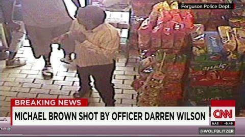 sot nr quiktrip robbery video michael brown shooting_00005705.jpg