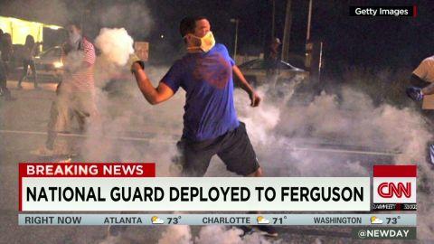 newday howell national guard deployed Ferguson Michael Brown_00003027.jpg