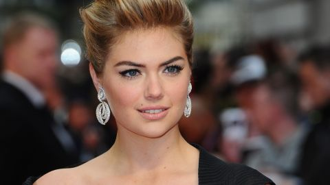 """LONDON, ENGLAND - APRIL 02:  Actress Kate Upton attends """"The Other Woman"""" UK premiere at the Curzon Mayfair on April 2, 2014 in London, England.  (Photo by Anthony Harvey/Getty Images)"""