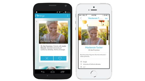 Hinge is a matchmaking app built on finding love with a little help from friends. Users sign in through Facebook and are sent matches each day from their extended social circles.