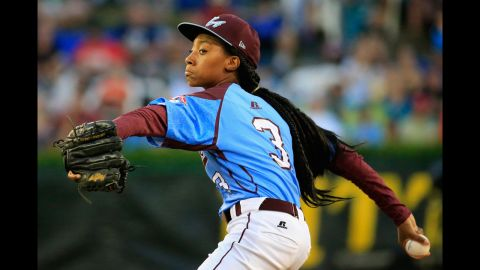 """Here's a look at 11 notable people -- some semi-famous, some not -- who did extraordinary things in 2014. We start with Mo'ne Davis, 13, <a href=""""http://www.cnn.com/2014/08/20/living/mone-davis-baseball-sensation-impact-girls-parents/"""">who became a national sensation</a> last summer after tossing a shutout -- while throwing 70 mph -- for her Philadelphia team in the Little League  World Series tournament. Mo'ne deflected the sudden attention to her teammates -- all of them boys -- while becoming a role model to girls everywhere."""
