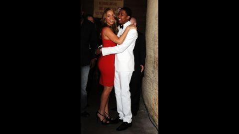 """In April 2014, Cannon slammed rumors of his wife allegedly stepping out with rapper Nas and denied there was trouble at home. """"It's amazing, man,""""<a href=""""http://www.eonline.com/news/527821/nick-cannon-slams-mariah-carey-cheating-rumors-says-marriage-is-amazing"""" target=""""_blank"""" target=""""_blank""""> Cannon said of their marriage.</a> """"We about to be six years on the 30th."""""""