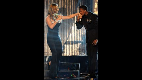 """Carey often said in interviews that her husband was extremely romantic. They even would renew their vows when the urge would hit them. In revealing the key to their closeness, Canon was a bit more blunt to Us Weekly, <a href=""""http://www.usmagazine.com/celebrity-news/news/nick-cannon-keeps-mariah-carey-marriage-alive-with-lots-of-sex-2014101"""" target=""""_blank"""" target=""""_blank"""">crediting their happiness to """"lots of sex."""" </a>"""