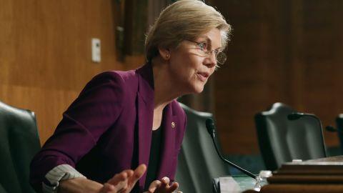 Sen. Elizabeth Warren is seeking Senate hearings on the revelations in secret tapes.
