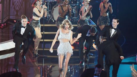 """Taylor Swift removed all of her music from Spotify days after releasing her fifth album, """"1989."""" """"Everything new, like Spotify, all feels to me a bit like a grand experiment,"""" she said. """"And I'm not willing to contribute my life's work to an experiment that I don't feel fairly compensates the writers, producers, artists and creators of this music."""""""