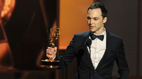 """Outstanding Lead Actor in a Comedy Series: Jim Parsons, """"The Big Bang Theory"""""""