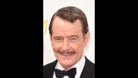"""Bryan Cranston looked dapper in 2014, the last year of eligibility for """"Breaking Bad."""""""