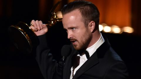 """Outstanding Supporting Actor in a Drama Series: Aaron Paul, """"Breaking Bad"""""""