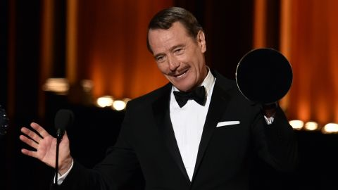 """Outstanding Lead Actor in a Drama Series: Bryan Cranston, """"Breaking Bad"""""""
