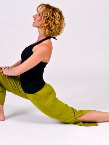 Kneeling lunges are great for releasing tight hip flexors.