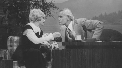 """Rivers' big break came in an appearance on Johnny Carson's """"Tonight Show"""" in 1965. It was the beginning of a relationship that would include dozens of appearances as guest and guest host."""
