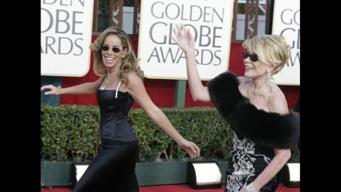 Rivers and her daughter, Melissa, have been regulars on awards show red carpets, critiquing celebrity fashion with lines both generous and cutting.