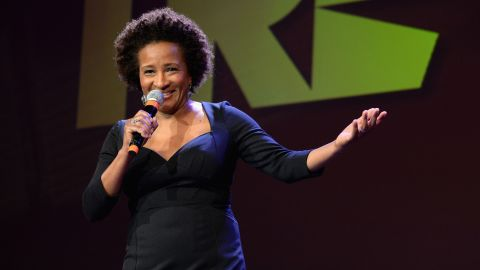 """Wanda Sykes initially took a detour into government work before she found her voice in comedy. Sticking to her ethos of authenticity, Sykes has earned respect and admiration from comedians and the public alike for comedy that always features her distinctive point of view.  While also being an accomplished writer (she's worked on quips for her own sitcoms and series like """"The Chris Rock Show"""") and an actor (nod to """"Curb Your Enthusiasm""""), Sykes is also a stand-up natural. In 2009, she became the first openly gay comedian and the first African American woman to host the White House Correspondents' Dinner."""