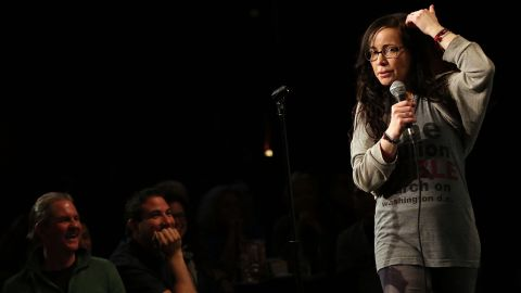 """For some of you, the '90s is nothing without the image of a brunette Janeane Garofalo in specs and Doc Martens, sardonically commenting on the culture of the day. Although Garofalo began her stand-up career in the late '80s, it felt like she was born to wryly carry us through the decade that followed. With credits that include """"The Ben Stiller Show,"""" """"Reality Bites,"""" """"The Larry Sanders Show"""" and """"Saturday Night Live,"""" Garofalo's comedy helped define a generation."""