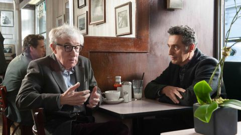 """<strong>""""Fading Gigolo""""</strong> (2013), starring Woody Allen, left, and John Turturro (who also wrote and directed), was another film that stayed below the radar. """"One of the nicest treats of the year,"""" wrote Maltin."""