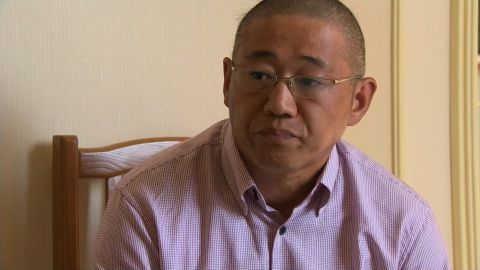 Kenneth Bae, one of three Americans detained in North Korea, spoke to CNN's Will Ripley on September 1, 2014.