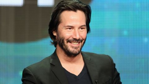 """Keanu Reeves is reprising his role as Ted """"Theodore"""" Logan in the new """"Bill & Ted"""" movie."""
