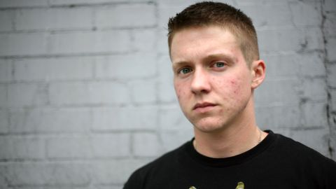 Landon Wilson, a transgender man who served as a cryptologist in Afghanistan, was kicked out of the Navy.