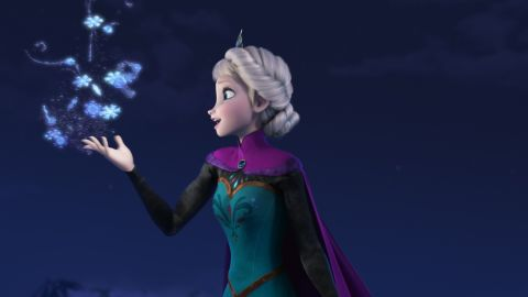 """""""FROZEN"""" (Pictured) ELSA. ©2013 Disney. All Rights Reserved. let it go"""