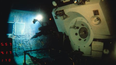 In July 1986, Alvin dived 12 times on the shipwreck of RMS Titanic, pictured.