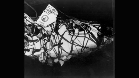 In October 1968, Alvin's cradle support cables snapped during the launch of a dive and it sank 5,000 feet to the bottom of the sea. It wouldn't be recovered until the following year.